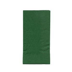 ディープカラーナプキン 2PLY 50枚入り 45x45cm 8面折り ダークグリーン|duni