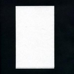 ハンドタオル 白無地 33x21cm 変形4面折り 40枚入り|duni