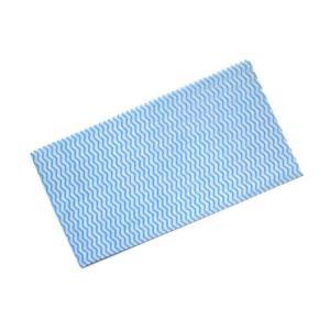 カウンタークロス 100枚入 32x60cm ブルー|duni