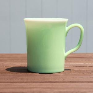 【在庫限り】 エコスターマグカップ(クリアグリーン)|duni
