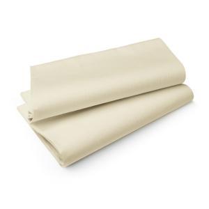 エヴォリン ペーパーテーブルクロス カラー クリーム 110×110cm 50枚入|duni