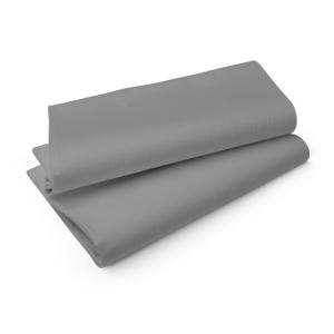 エヴォリン ペーパーテーブルクロス カラー グラニテグレー 110×110cm 50枚入|duni