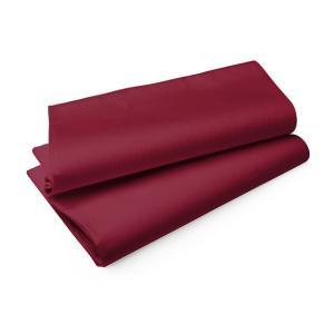 エヴォリン ペーパーテーブルクロス カラー ボルドー 110×110cm 50枚入|duni