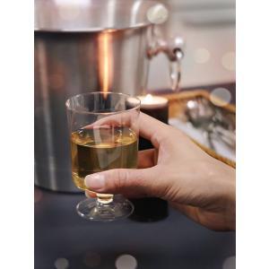 プラスチック製ワイングラス 高さ9.2x幅6cm 175cc 12個入 duni 02