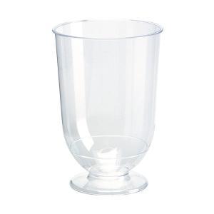 在庫限り プラスチック製 ワイングラス 高さ9x幅6cm 180cc 15個入 |duni