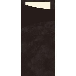 【在庫限り】 サチェット(ブラック) 8.5×18.5cm 100枚入|duni
