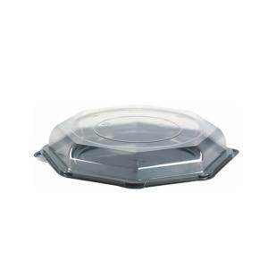 サービングプラター オクタゴナル 本体&フタ 5セット入り 305x305mm|duni