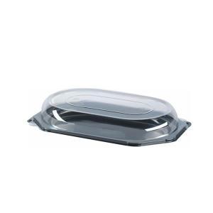 サービングプラター オクタゴナル 本体&フタ 5セット入り 360x240mm|duni