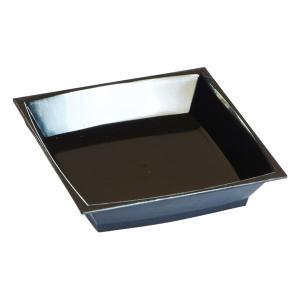 在庫限り ミラン アミューズディッシュ ブラック 6.7x6.7cm 50枚入 業務用 ハロウィン クリスマス 女子会 BBQ 使い捨て|duni