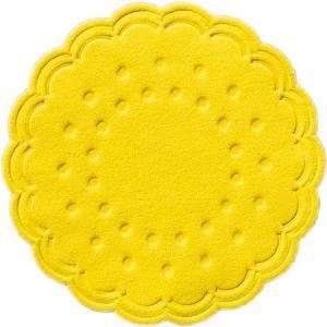 【在庫限り】 ティッシュコースター  (イエロー)  8PLY 250枚入  直径7.5cm|duni