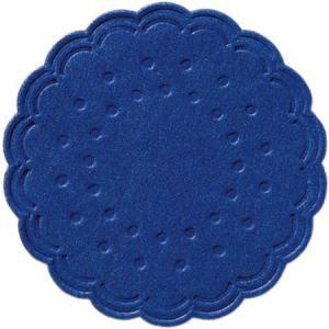 ティッシュコースター  (ダークブルー)  8PLY 250枚入 直径7.5cm|duni