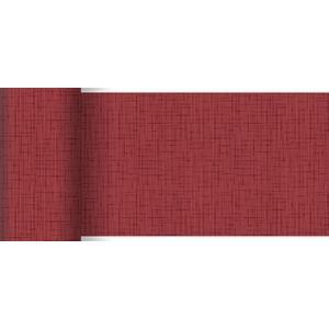 ペーパーテーブルランナー スリム リネアボルドー 15cm×20M 1本入 |duni