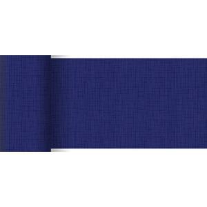 ペーパーテーブルランナー スリム リネアダークブルー 15cm×20M 1本入 |duni