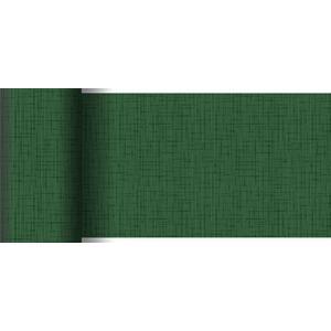 ペーパーテーブルランナー スリム リネアダークグリーン 15cm×20M 1本入 |duni