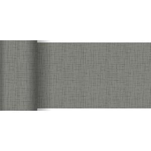 ペーパーテーブルランナー スリム リネアグラニテグレー 15cm×20M 1本入 |duni