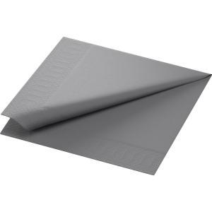 カラーナプキン 2PLY 4面折 グラニテグレー  24×24cm 300枚入|duni