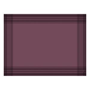 【在庫限り】 デュニセル ペーパーランチョンマット カラー(プラム) 30×40cm 100枚入|duni