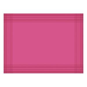 【在庫限り】 デュニセル ペーパーランチョンマット カラー(フクシア) 30×40cm 100枚入|duni