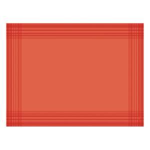 【在庫限り】 デュニセル ペーパーランチョンマット カラー(マンダリン) 30×40cm 100枚入|duni