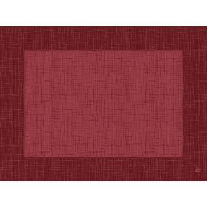 デュニセル ペーパーランチョンマット カラー(リネア ボルドー) 30×40cm 100枚入|duni