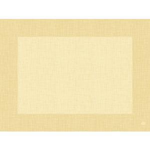 デュニセル ペーパーランチョンマット カラー(リネア クリーム) 30×40cm 100枚入|duni