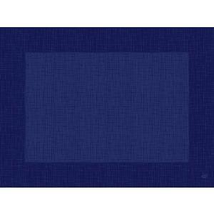 デュニセル ペーパーランチョンマット カラー(リネア ダークブルー) 30×40cm 100枚入|duni