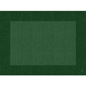 デュニセル ペーパーランチョンマット カラー(リネア ダークグリーン) 30×40cm 100枚入|duni