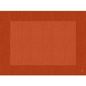 デュニセル ペーパーランチョンマット カラー(リネア マンダリン) 30×40cm 100枚入|duni