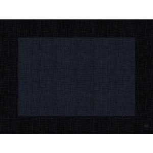 デュニセル ペーパーランチョンマット カラー(リネア ブラック) 30×40cm 100枚入|duni