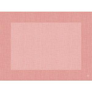 デュニセル ペーパーランチョンマット カラー リネア メローローズ 30×40cm 100枚入 duni
