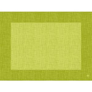 デュニセル ペーパーランチョンマット カラー(リネア キウィ) 30×40cm 100枚入|duni