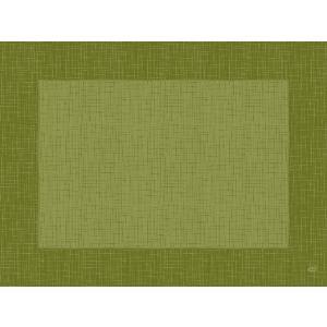 デュニセル ペーパーランチョンマット カラー(リネア ハーバルグリーン) 30×40cm 100枚入|duni