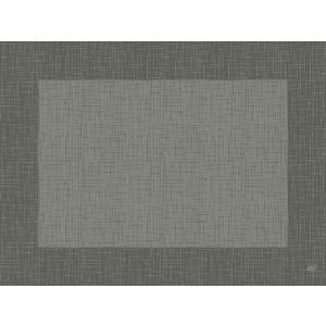 デュニセル ペーパーランチョンマット カラー(リネア グラニテグレー) 30×40cm 100枚入|duni