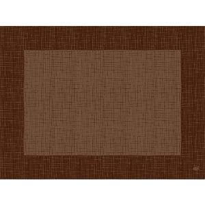 デュニセル ペーパーランチョンマット カラー(リネア チェストナット) 30×40cm 100枚入|duni