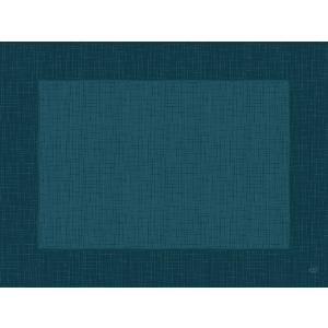 デュニセル ペーパーランチョンマット カラー(リネア オーシャンティール) 30×40cm 100枚入|duni