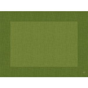 デュニセル ペーパーランチョンマット カラー(リネア リーフグリーン) 30×40cm 100枚入|duni