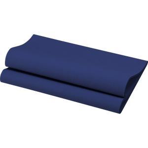 在庫限り デュニリン (スターリン) ナプキン 50枚入 4面折 ダークブルー 40×40cm|duni