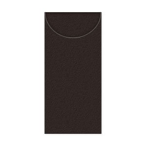 在庫限り LUNA ナプキン 8面折 (ブラック) 50枚入り 40x40cm|duni