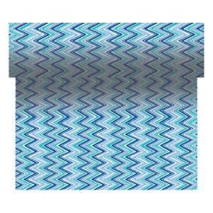 【在庫限り】 スリーインワン (ジグザグストライプブルー) 40cm x 4.8M 1本入|duni