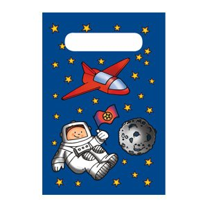 【在庫限り】 プレゼントバッグ スペース 10枚入り 23x15.4cm|duni