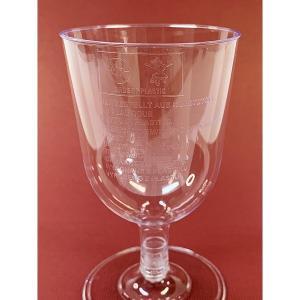 プラスチック製組立式ワイングラス (透明) 高さ11x幅6.5cm 175cc 12個入|duni|02