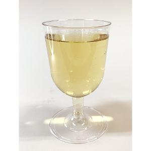 プラスチック製組立式ワイングラス (透明) 高さ11x幅6.5cm 175cc 12個入|duni|04