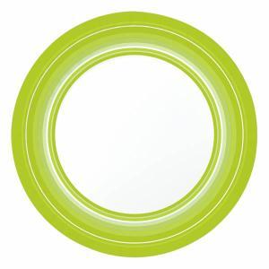 【在庫限り】 ペーパープレート (BBQグリーン) 22cm 10枚入|duni