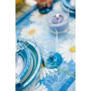 プラスチック製組立式ワイングラス (BBQブルー) 高さ11x幅6.5cm 175cc 12個入|duni|04