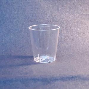プラスチック製ショットグラス 透明 高さ4.2cm 30cc 20個入|duni