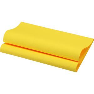 デュニリン ナプキン 4面折 イエロー 40×40cm 12枚入|duni