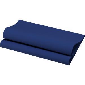 デュニリン ナプキン 4面折 ダークブルー 40×40cm 12枚入|duni