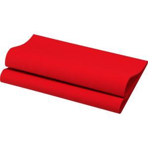 デュニリン ナプキン 4面折 レッド 40×40cm 12枚入|duni