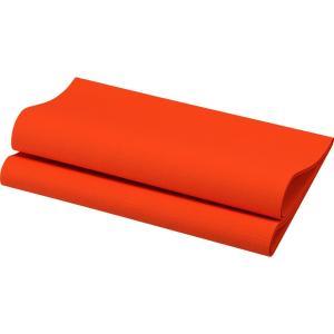 デュニリン ナプキン 4面折 マンダリン 40×40cm 12枚入|duni