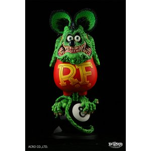 ソフビ製塗装済完成品 RAT FINK (8Ball Edition)|dunk-store